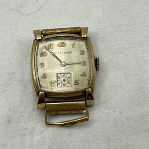 Lot # 121 Wittnauer Gold-tone Watchface