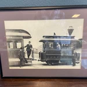 Lot # 134 Print Photo of P.&F.R.R.Co Train