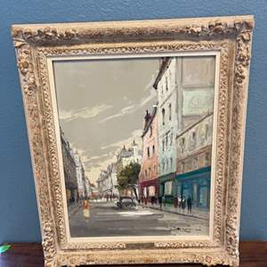 Lot # 138 Oil Painting, Artist Zanini