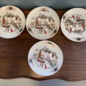 Lot # 148 Christmas Plates