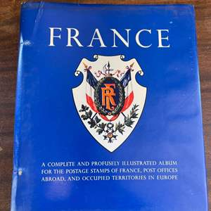 Lot # 159 France Stamp Book Collection