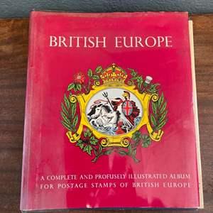 Lot # 161 The British Europe Stamp Book