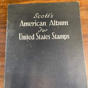 Lot # 162 American Album for United States Stamps