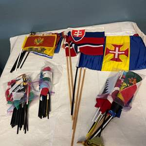 Lot # 164 Collection of World Flags
