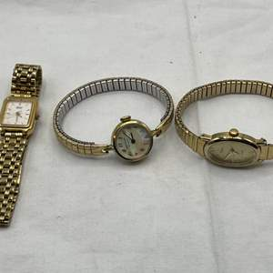 Lot # 193 Lot of Ladies Watched (Wittnauer Geneva, Seiko & Times)