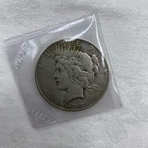 Lot # 196 1923-S Type 2 Peace Dollar