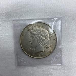 Lot # 199 1922 Type 2 Peace Dollar