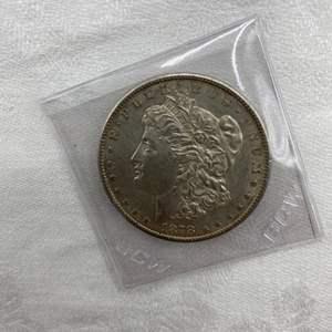 Lot # 200 1878-S Morgan Dollar