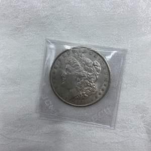 Lot # 206 1885-S Morgan Dollar