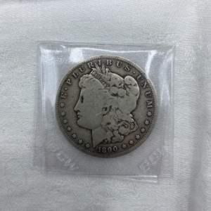Lot # 209 1890-O Morgan Dollar
