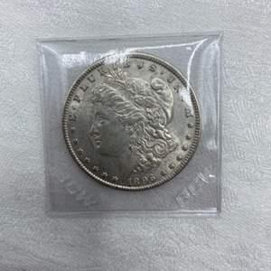 Lot # 210 1896 Morgan Dollar