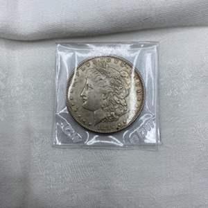 Lot # 212 1896 Morgan Dollar