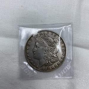 Lot # 214 1902 Morgan Dollar