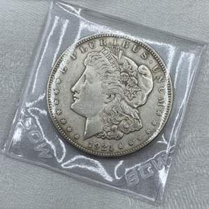 Lot # 215 1921 Morgan Dollar