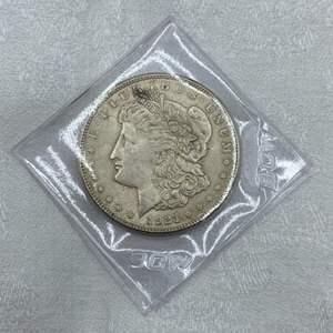 Lot # 216 1921-S Morgan Dollar