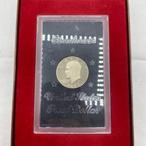 Lot # 220 1971-S Eisenhower Dollar US Mint Proof