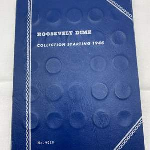 Lot # 223 Roosevelt Dime Collection Book with Coins