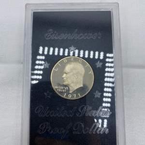 Lot # 227 1971-S Eisenhower Dollar US Mint Proof