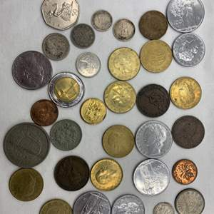 Lot # 235 Lot of Foreign Coins