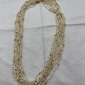 Lot # 238 Freshwater Pearl Necklace, Clasp Marked 14k