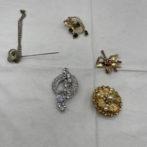 Lot # 240 Lot of Brooches and 1 Pin