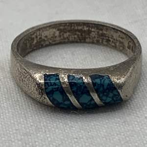 Lot # 251 Sterling Ring, Marked 925
