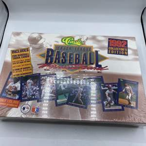 Lot # 1 1992 Classic Collectors Edition of Major League Baseball Trivia Board Un-Opened