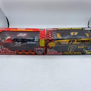 Lot # 2 Lot of 2 Racing Champions 1/24 Scale Die Cast Racing Stock Car Replicas