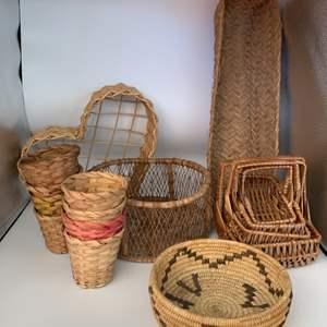 Lot # 13 Lot of Baskets