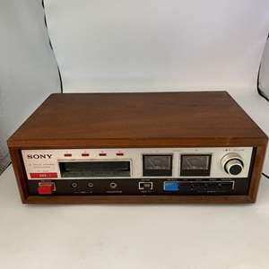 Lot # 27 Sony B Track Stereo Tapecorder Model TC- 228 - Untested