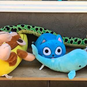 Lot # 53 Stuffed Toy Lot w/ 1 Hansa and 2 Douglas