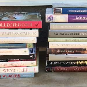 Lot # 59 Lot of Interior Design Books