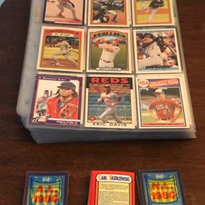 Lot # 62 Baseball Card Lot-Mostly Commons w/ Some Stars