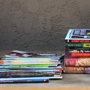Lot # 66 lot of Kids Books & Comics