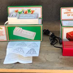 Lot # 73 Vintage Christmas Electronics-Both Work