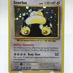 Lot # 78 Pokemon Snorlax xy179 Holo Card