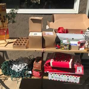 Lot # 88 Huge Christmas Lot