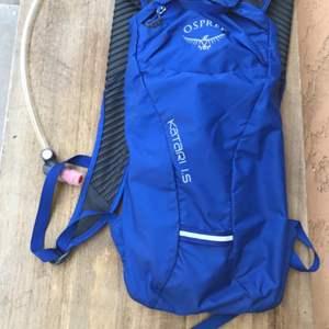 Lot # 99 Osprey Katari 1.5 Hydration Backpack-Untested