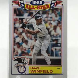 Lot # 166 1987 Topps DAVE WINFIELD