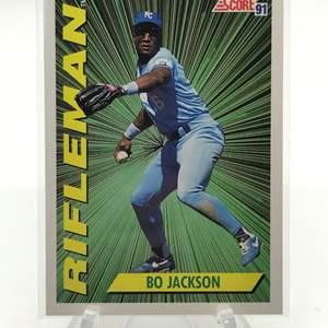Lot # 171 1991 Score BO JACKSON