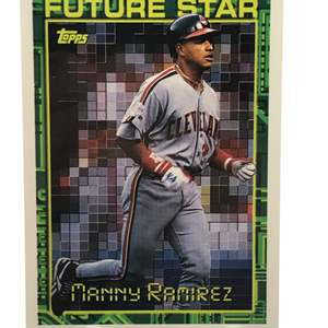 Lot # 176 1994 Topps Rookie MANNY RAMIREZ