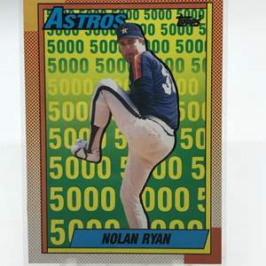 Lot # 194 1990 Topps NOLAN RYAN