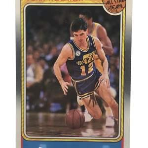 Lot # 215 1988 Fleer Rookie JOHN STOCKTON