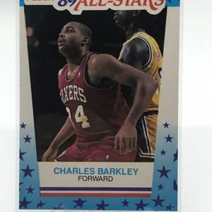 Lot # 217 1989 Fleer CHARLES BARKLEY