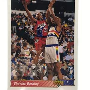 Lot # 218 1992 Upper Deck CHARLES BARKLEY