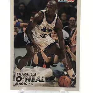 Lot # 223 1993 Fleer SHAQUILLE O'NEAL