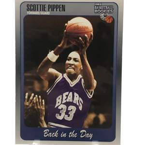Lot # 224 1997 Score Back In The Day SCOTTIE PIPPEN