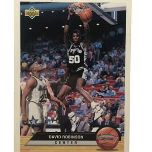 Lot # 225 1992 Upper Deck DAVID ROBINSON