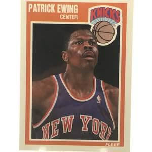 Lot # 234 1980 Fleer PATRICK EWING