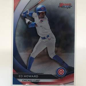 Lot # 270 2020 Bowmans Best ED HOWARD